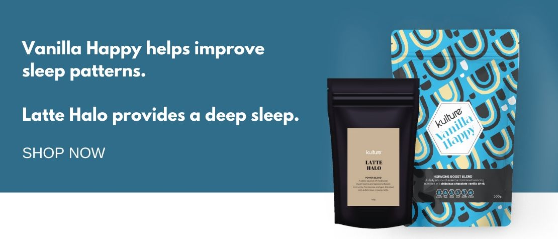 Kulture products to help sleep.