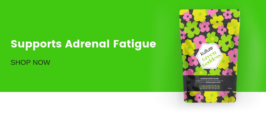 Green Goddess supports adrenal fatigue