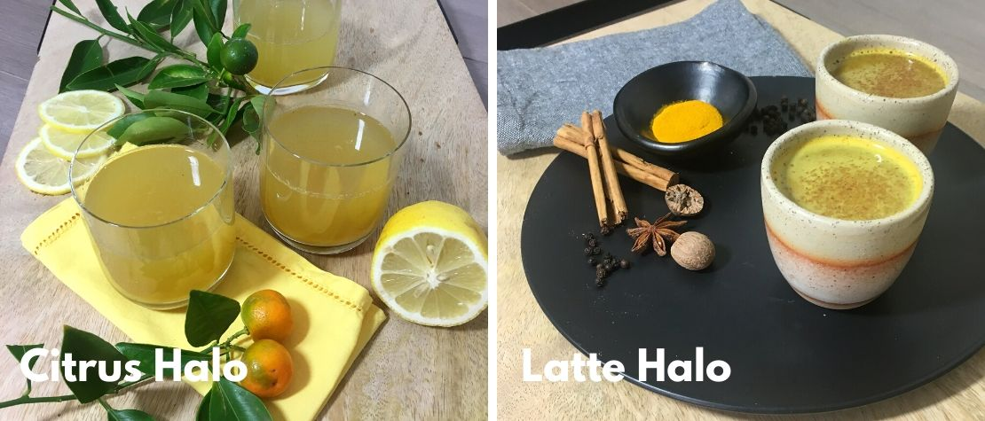 Immunity Halo Products with Turmeric