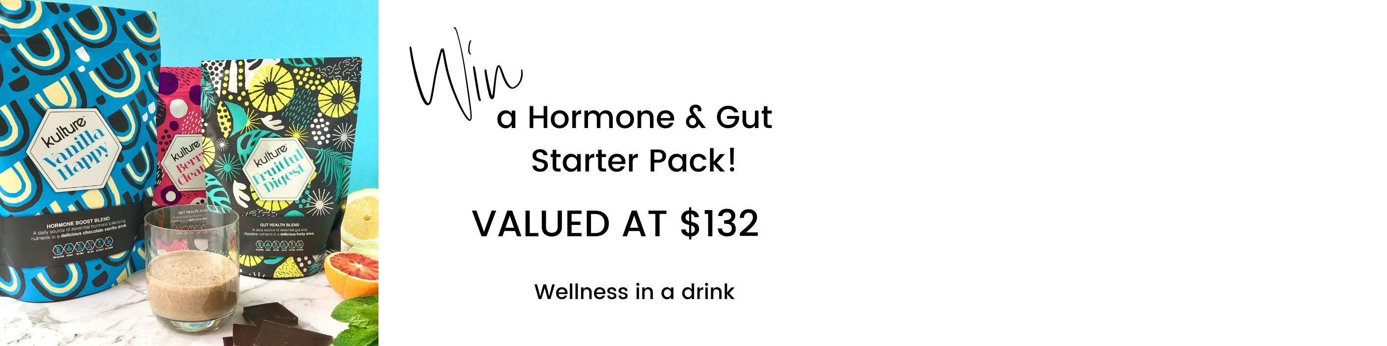 Win a Hormone and Gut Starter Pack
