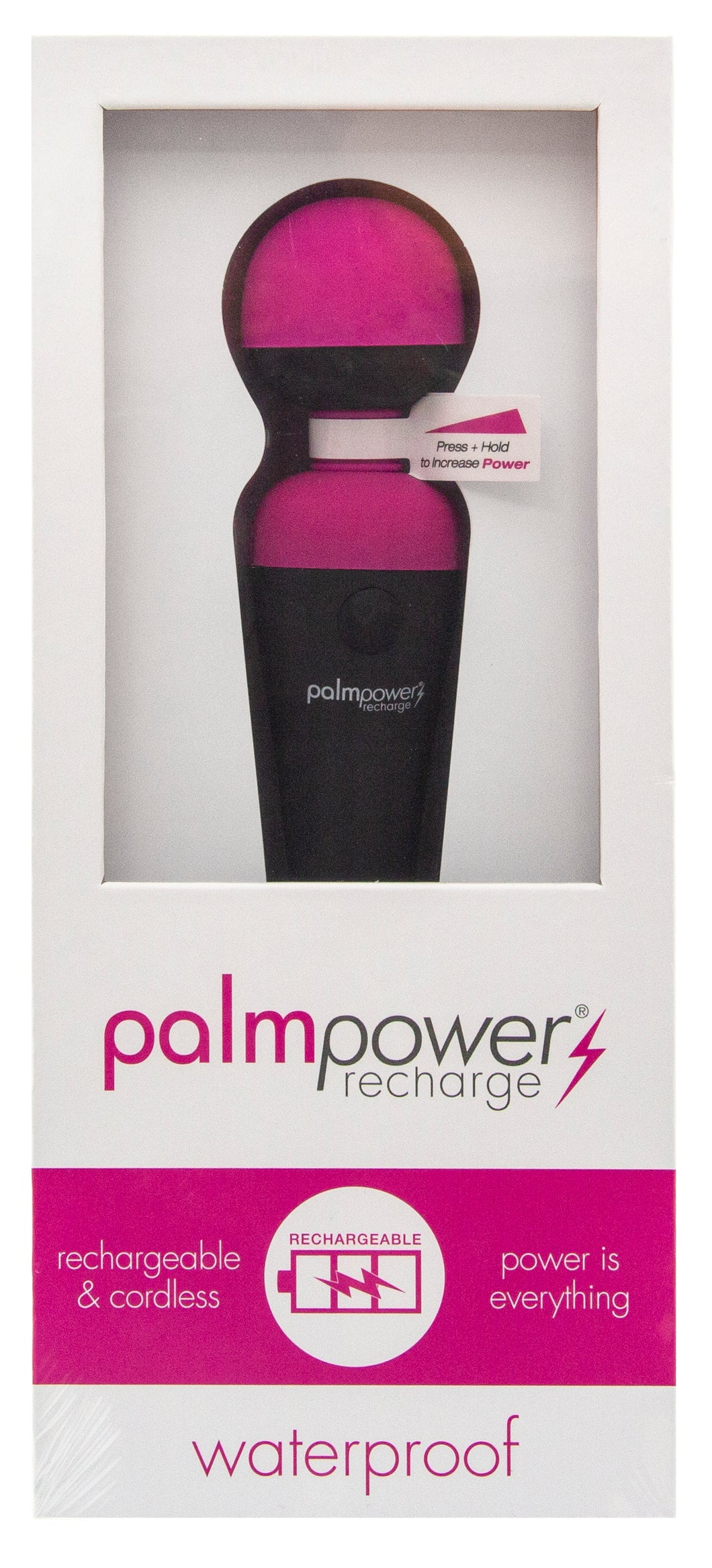 Palm Power Massage Wand Recharge Waterproof