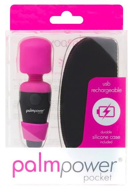 Palm Power Rechargeable Pocket Massager Fuchsia