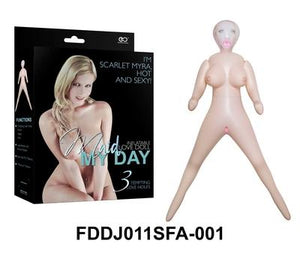 Maid My Day Doll Scarlet Myra Flesh - Just for you desires