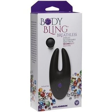 Body Bling Breathless Rechargeable Mini Vibe Purple
