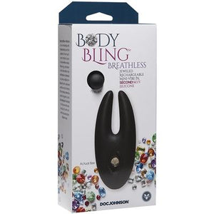 Body Bling Breathless Rechargeable Mini Vibe Silver
