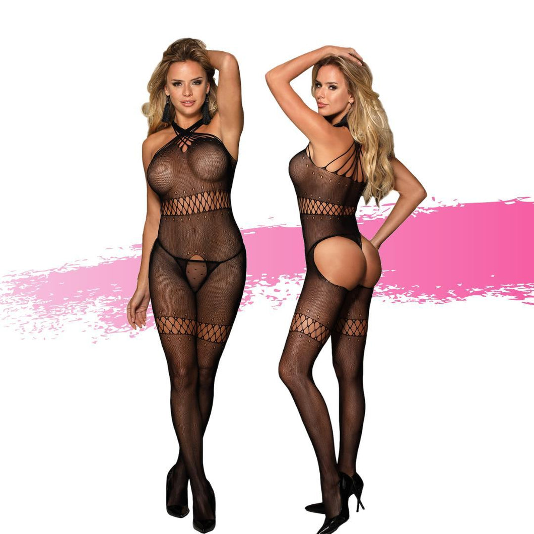 Ashella Lingerie Mara Bodystocking O/S - Just for you desires