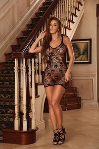 Seamless Dress Skulls One Size Black - Just for you desires