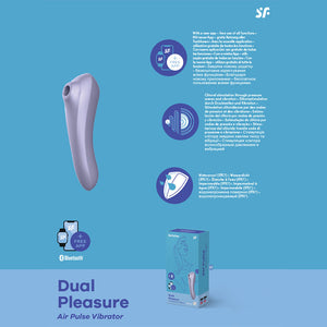 Satisfyer Dual Pleasure Mauve