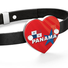 Panama Leather Bracelet