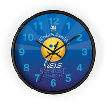 Sunrise Happy Wall clock