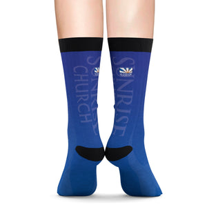 Sunrise Sublimation Socks