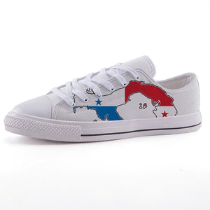 Panama Istmo II White Sole Low-top fashion canvas shoes
