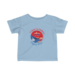 Puerto Rico Infant Fine Jersey Tee