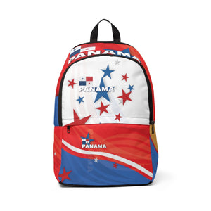 Panama Stars Unisex Fabric Backpack
