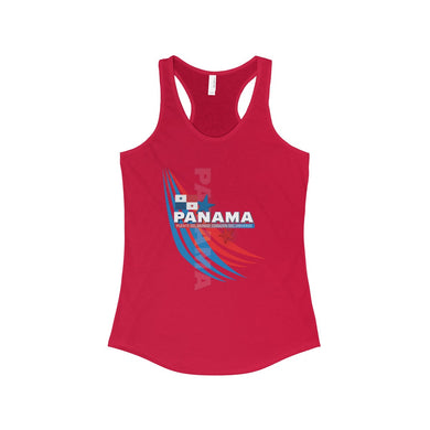 Panama Corazon Mundo Women's Ideal Racerback Tank
