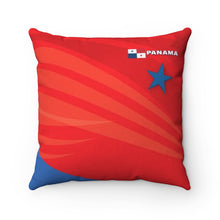 Panama Spun Polyester Square Pillow