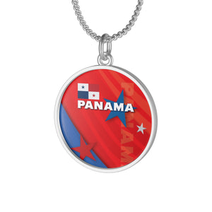 Panama Red Single Loop Necklace
