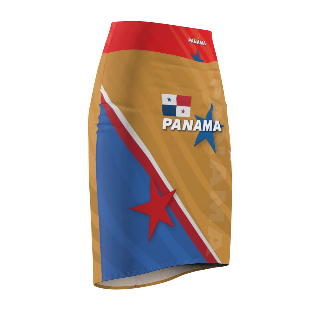 Panama Women's Pencil Skirt