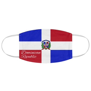 Dominican Fabric Face Mask