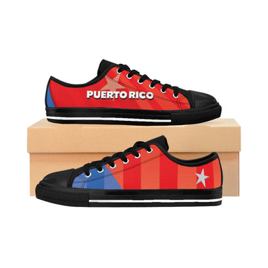 Puerto Rico Women's Black Sneakers
