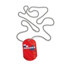 Panama Red Dog Tag