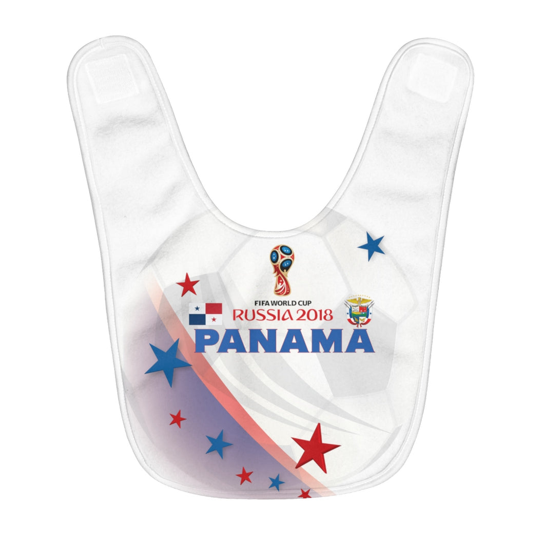 Panama World Cup Fleece Baby Bib