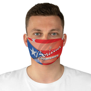 Puerto Rico Boricua Fabric Face Mask
