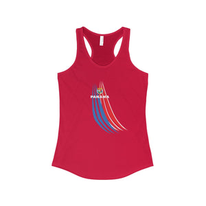 Panama Stripes Women's Ideal Racerback Tank