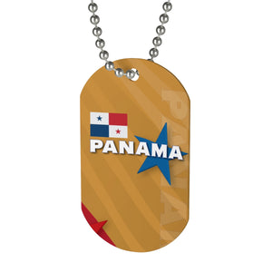 Panama Gold Dog Tag
