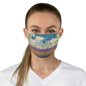 Pray Fabric Face Mask