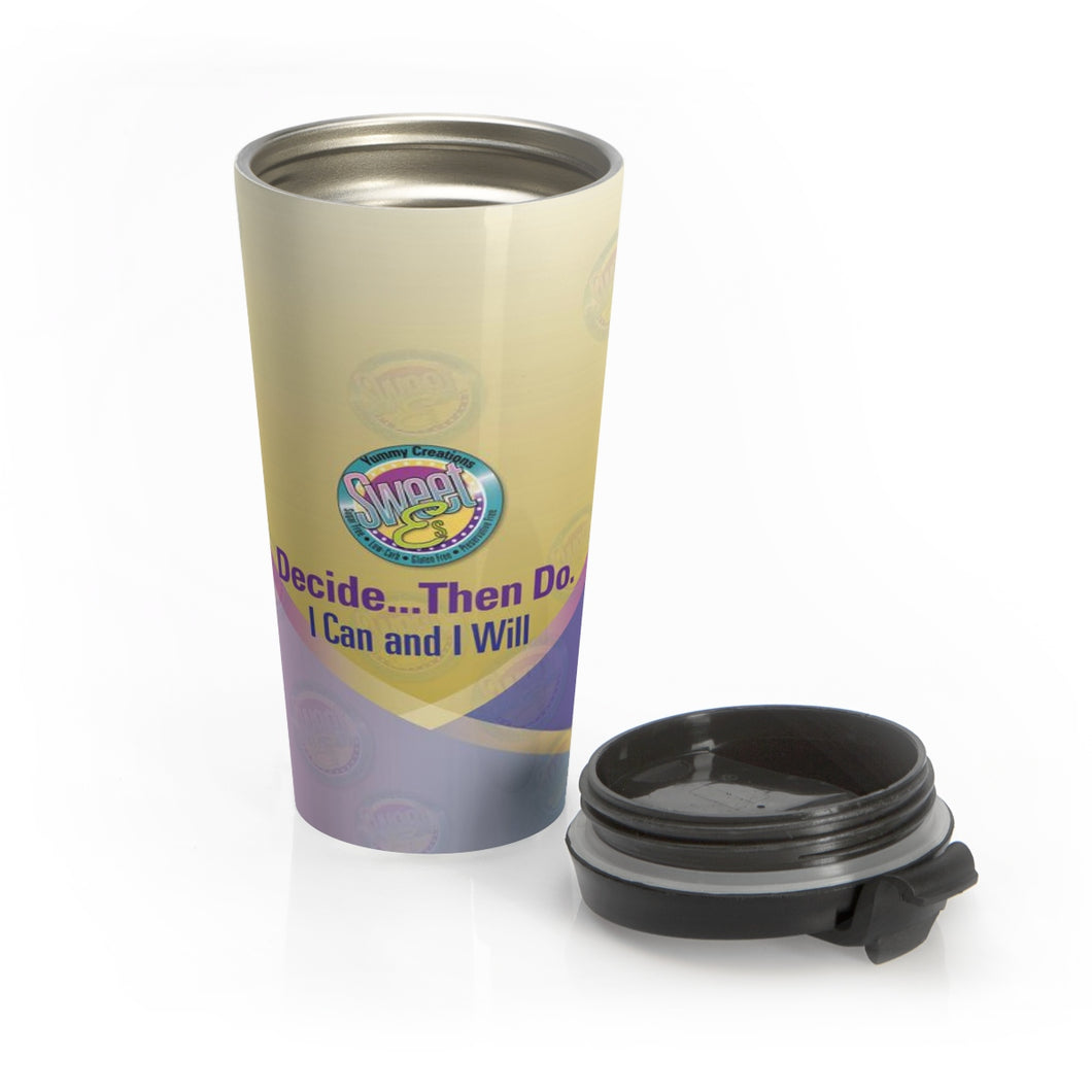 SweetEs  Stainless Steel Travel Mug