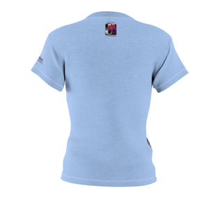MABCC Women's AOP Cut & Sew Tee Blue