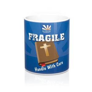 Sunrise Fragile Blue Mug 11oz