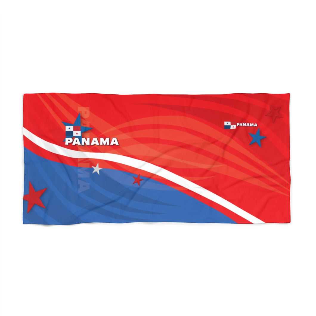 Panama Red Beach Towel