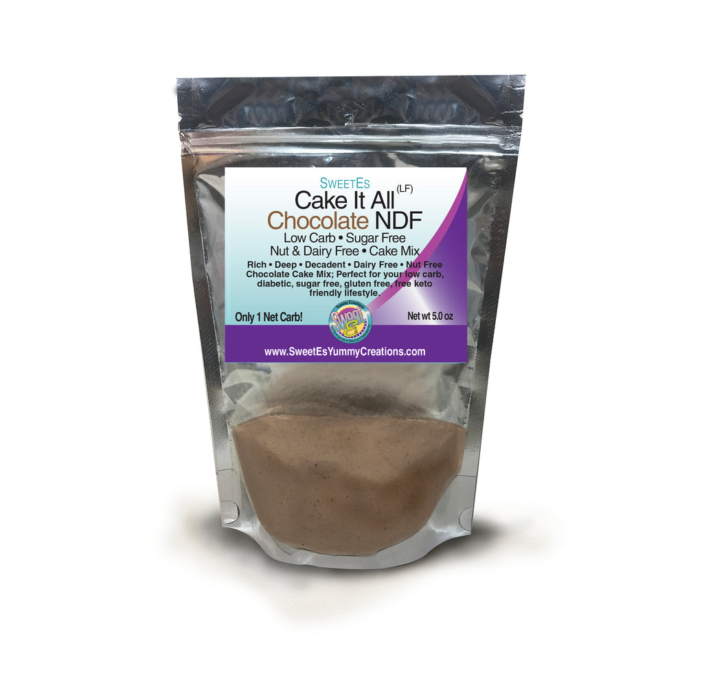 *Sweet-Es Cake It All Chocolate NDF  (Nut-Dairy Free) Cake Mix