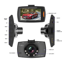 *Dash Camera 720/1080p. Micro SD Card Not Included