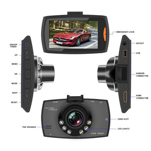 *Dash Camera 720/1080p. FREE Bluetooth Earbud Included.