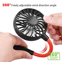Portable Neck Fan Includes a FREE Earbud, while they last.