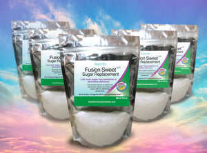 *Sweet-Es (5-PACK) Fusion Sweet sugar replacement (LF) 5LBS