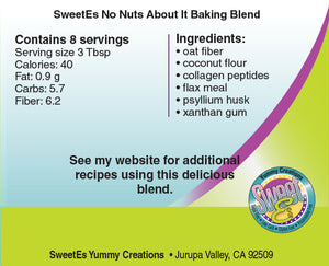 *Sweet-Es No Nuts About It (Baking Blend)