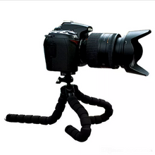 *Mini Flexible Tripod for Cell Phone & Cameras - (color -Black). FREE Remote Included