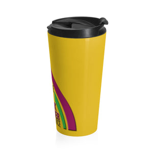 MABCC Gold Stainless Steel Travel Mug
