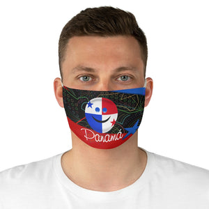 Panama Smile Fabric Face-Mask