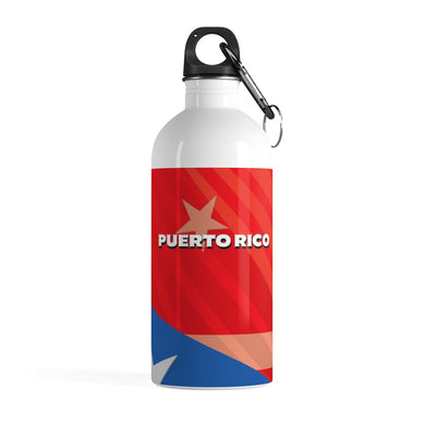 Puerto Rico Stainless Steel Water Bottle