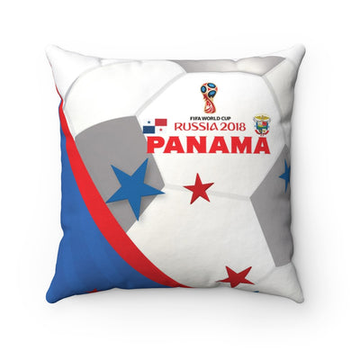 Panama World Cup Spun Polyester Square Pillow Case