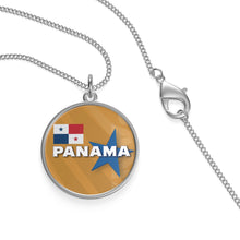 Panama Gold Single Loop Necklace