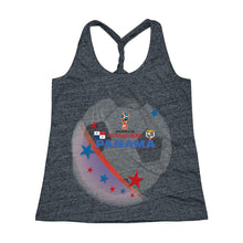 Panama World Cup Women's Cosmic Twist Back Tank Top