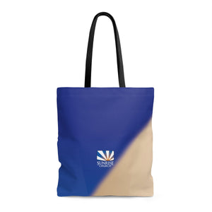 Sunrise 2 Tone AOP Tote Bag
