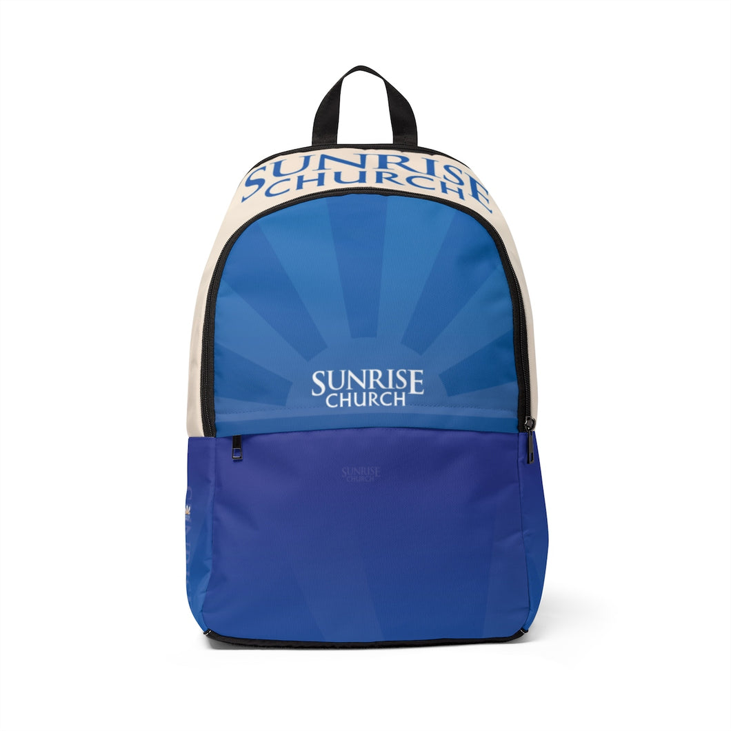 Sunrise Unisex Fabric Backpack