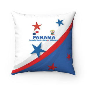 Panama Puente Spun Polyester Square Pillow